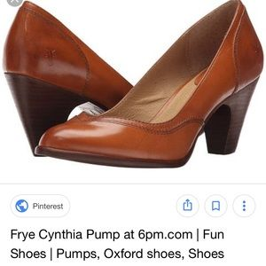 Frye Cynthia Pump Dark Brown 8.5